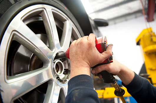 Alloy Wheel Repair - Stage 1