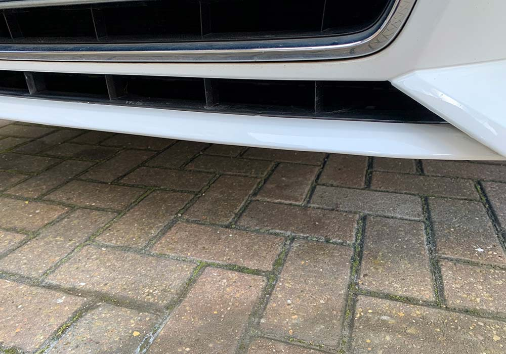 Audi Q3 Front Valance Finished Result