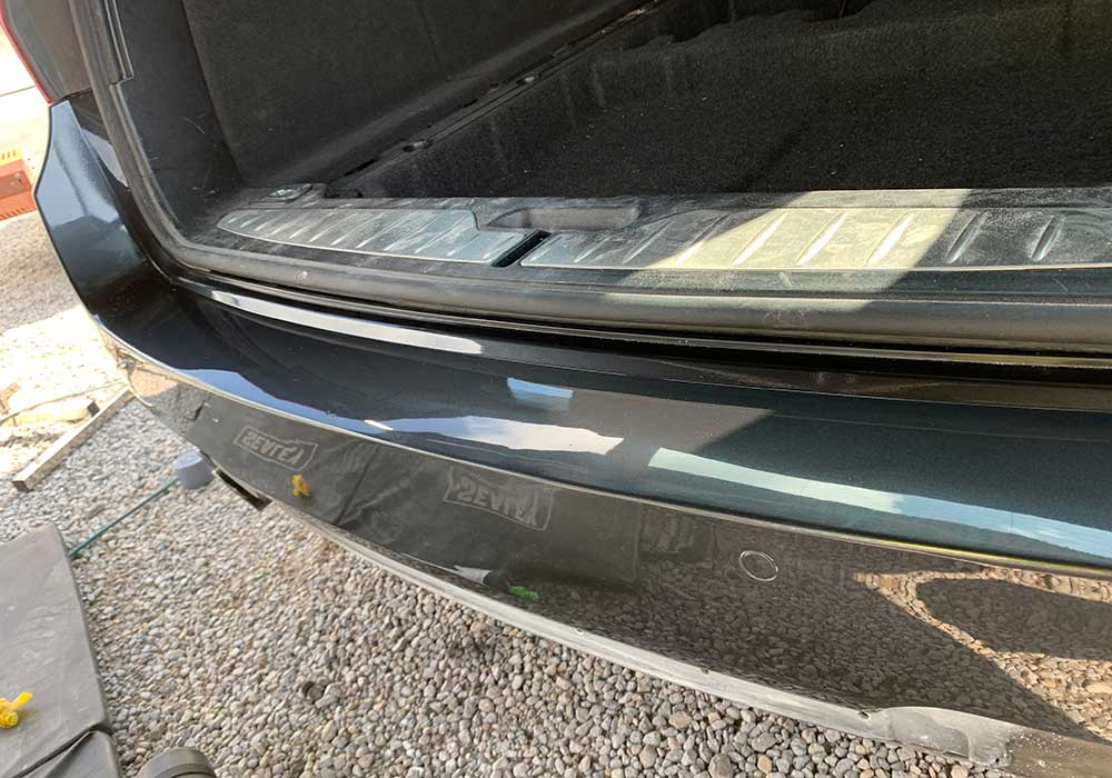 BMW Rear Bumper - After Image
