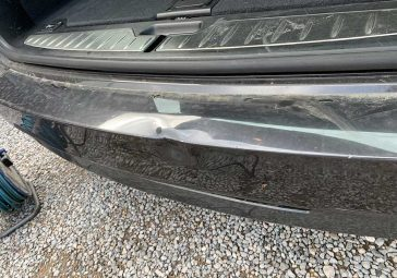 BMW Rear Bumper - Before Image