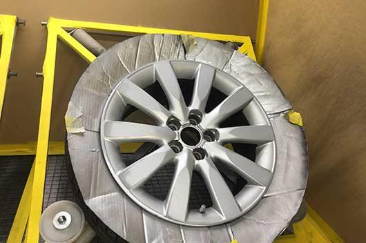 Alloy Wheel Repair Stage 3