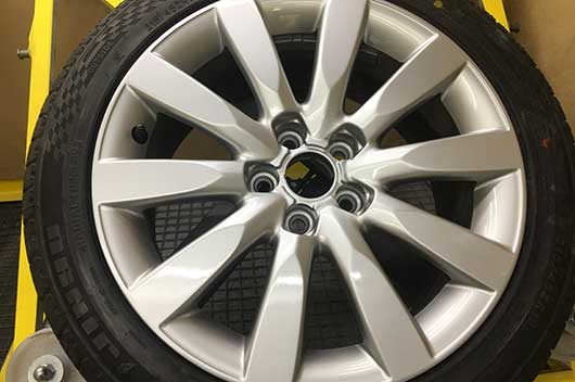 Alloy Wheel Repair - Stage 4